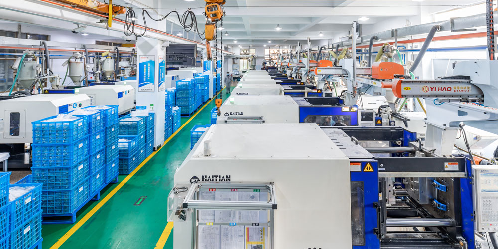 the automatic production line